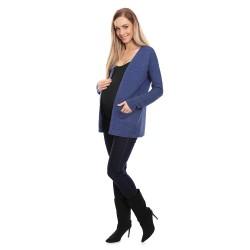 Těhotenský svetr Sofi tmavě modrá