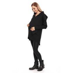 Moderní těhotenská tunika Origi černá