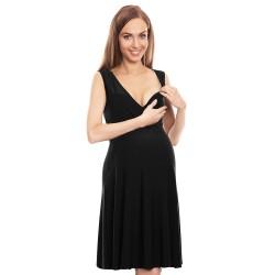 Letní těhotenské šaty Lili černá