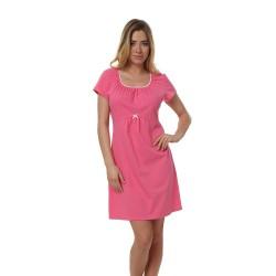 Těhotenská kojící košilka Dagna růžová