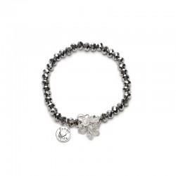 Náramek Charm stříbrný Beads