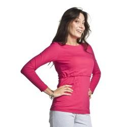 Těhotenská a kojící halenka Comfy amaranth