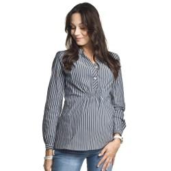 Těhotenská a kojící košile Melba proužek