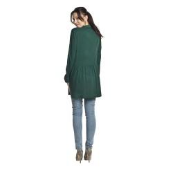 Těhotenská a kojící tunika Tonea tmavě zelená