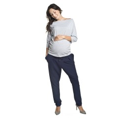 Těhotenské kalhoty Pepper tmavě modrá
