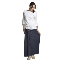 Těhotenská sukně Madi tmavě modrá