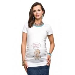 Těhotenské tričko Daddy