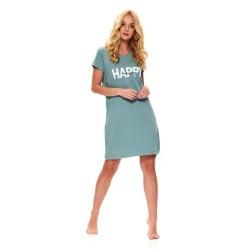Těhotenská noční košilka Elean H pro kojení světle zelená