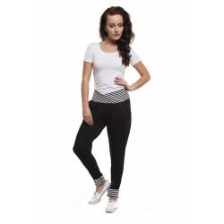 Těhotenské kalhoty Sweetboat černé