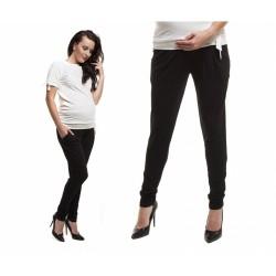 Těhotenské kalhoty Garet černé