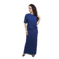Těhotenské a kojící šaty Marta námořnická modrá
