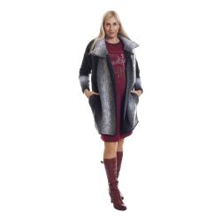Těhotenský kabátek Reni šedý