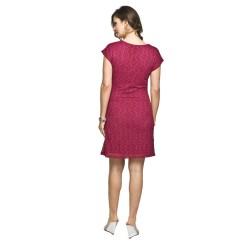 Těhotenské šaty Muret amarantová
