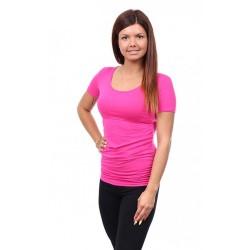 Těhotenské a kojící tričko Stella amarant