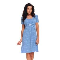 Těhotenská noční košilka Adel světle modrá