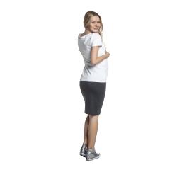 Těhotenská sukně MIA basic grafit