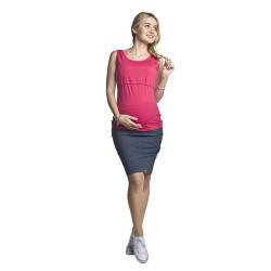 Těhotenské a kojící tílko Auril amarantové