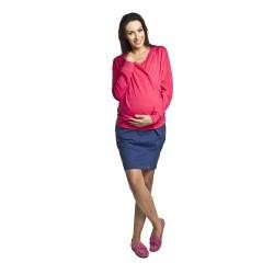 Těhotenská sukně SWING SUMMER - tmavě modrá.