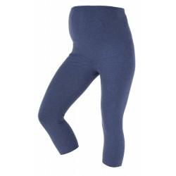 Těhotenské 3/4 leginy Getry jeans