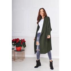 Oversize svetr dlouhý Megg...