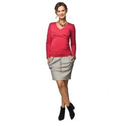Těhotenská moderní sukně Swing