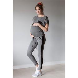 Tepláková souprava Miracle s funkcí kojení šedá.