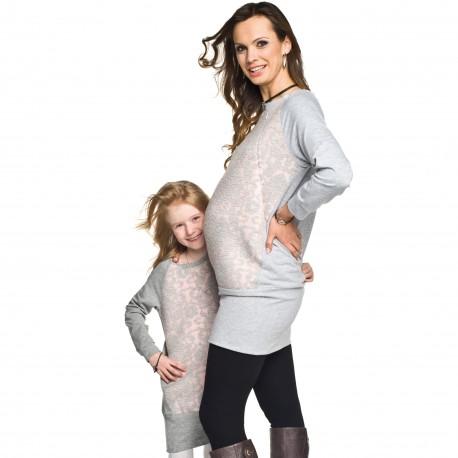 Těhotenská a kojící tunika Mirell