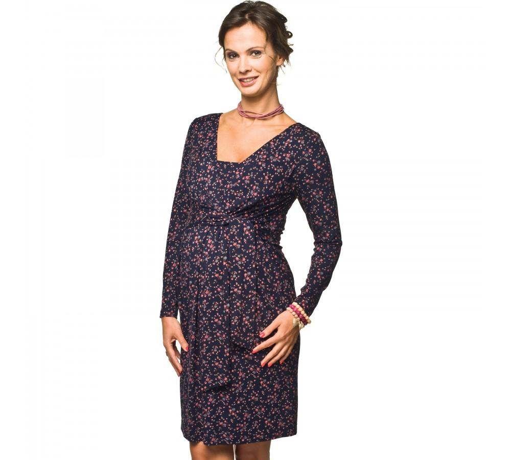 Těhotenské a kojící šaty Blufi